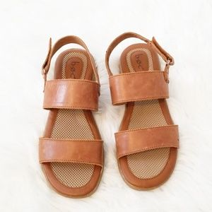 Born BOC Distressed Leather Sandals